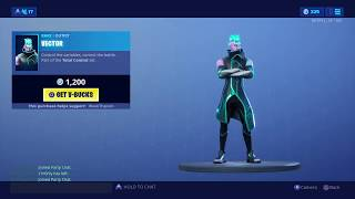 Fortnite item shop 10 juillet 2019 - NEW VECTOR SKIN , HEXFORM ANIMATED WRAP AND ION GLIDER