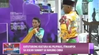 News@1: Katutubong kultura ng Pilipinas, itinampok sa ASEAN Summit sa Nanning, China