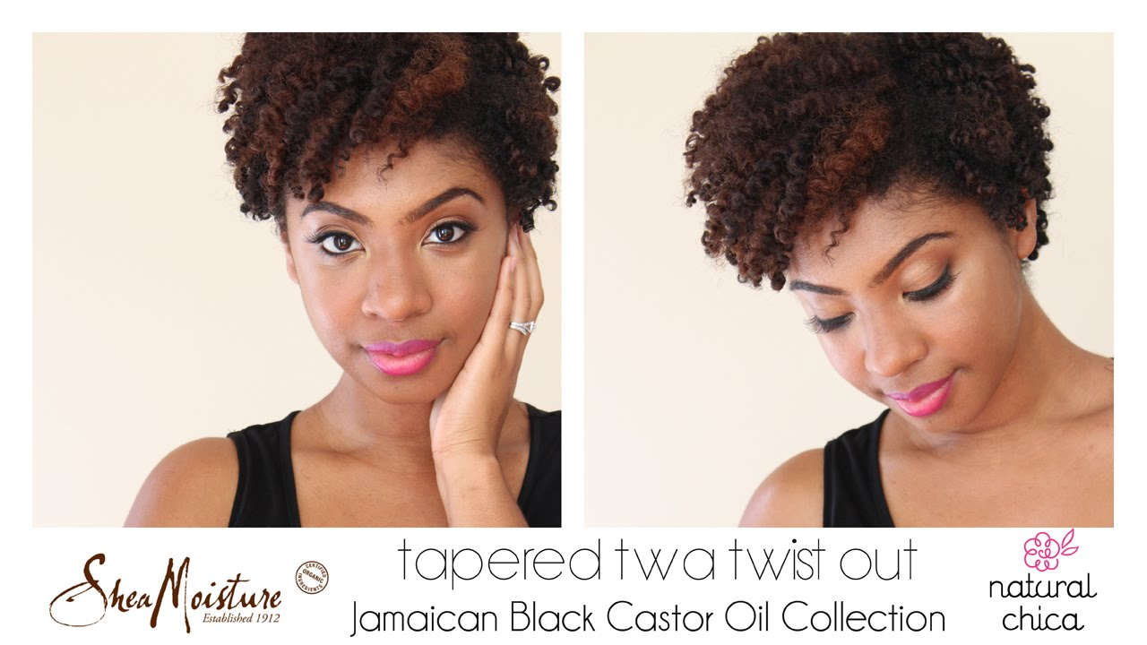 Freshly Defined Twist Out On Tapered Short Natural Hair