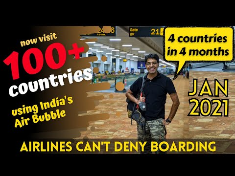 How To TRAVEL OUT OF INDIA In 2021 | Which COUNTRIES Are OPEN FOR TOURISM