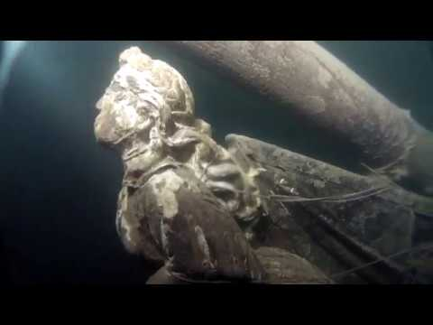 Wreck diving in Baltic sea