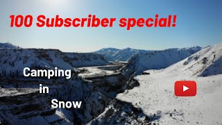 Winter camping in Idaho | South fork Boise river
