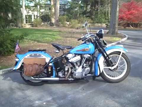 All About A Classic 1936 Harley EL Knucklehead
