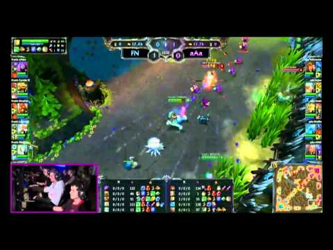 LoL - Finals - Game 1 - Fnatic vs aAa - League of Legends