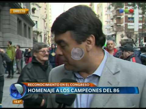 Los campeones del 86 también apoyaron a Messi – Telefe Noticias