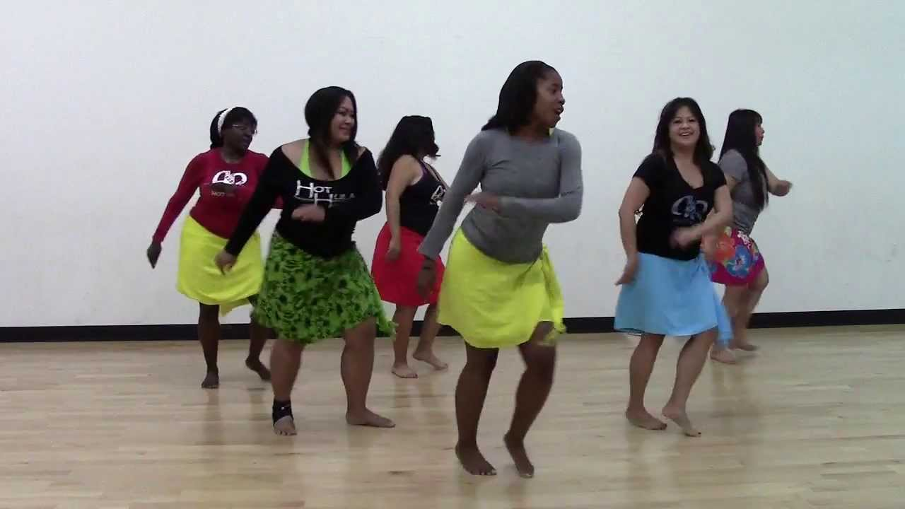 HOT HULA fitness Dance Workout - Week 1 - Part 2