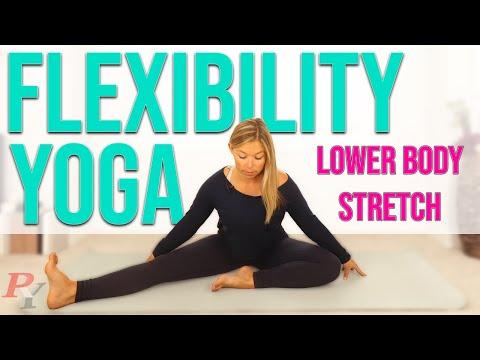 yin yoga for flexibility  lower body stretch  19 minutes
