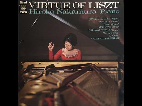 Liszt Trois études de concert