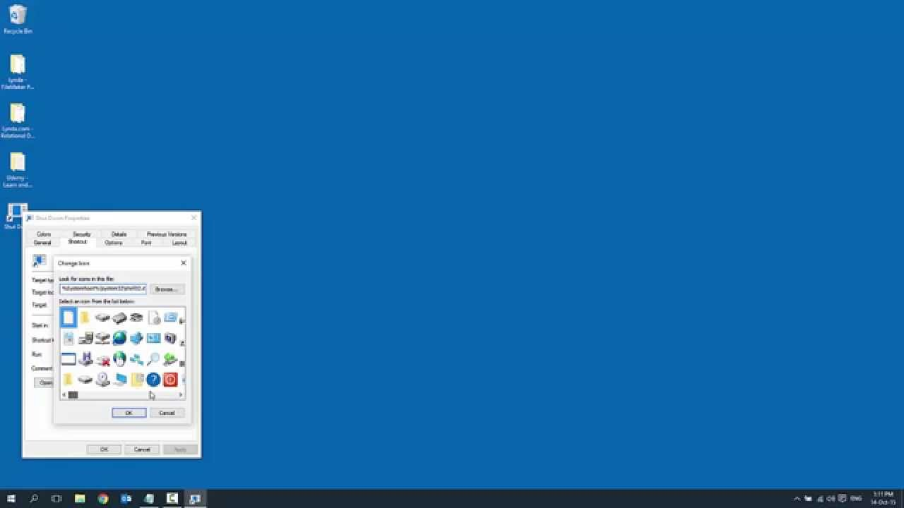 How To Add Shut Down Icon on Desktop in Windows 10