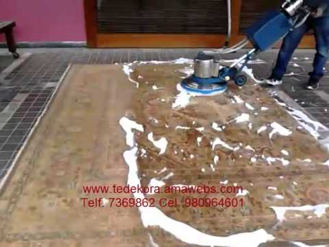 Limpieza de alfombras persas con espuma seca en lima youtube - Limpieza alfombras persas ...
