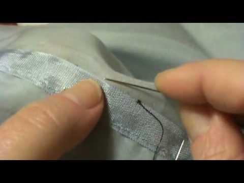 The classic hem stitch