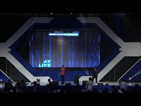 Ajebo feat Pencil - AY Live 2017