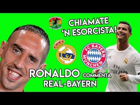 Ronaldo commenta Real Madrid-Bayern Monaco| #doppiaggicoatti |