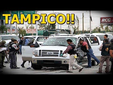 Graban Balacera en Tampico, Tamaulipas entre los Cartel del Golfo y Rivales 2014