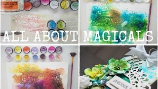 All about MAGICALS from Lindy's Stamp Gang - Tips & Techniques