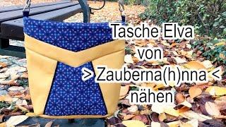 Tasche - Elva - von Zauberna(h)nna nähen