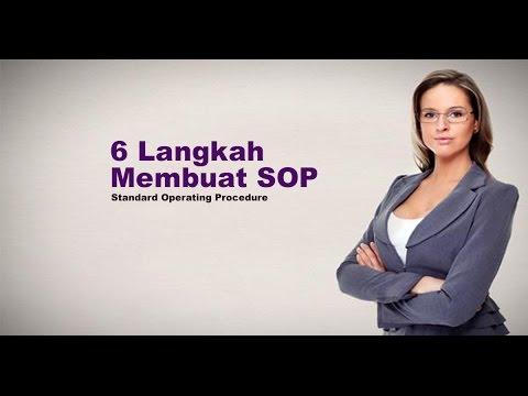 Cara Membuat SOP - Standard Operating Procedures