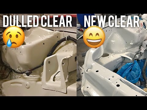 CLEAR COAT RATTLE CAN | Project Civic EG