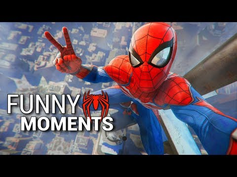 Spider-Man PS4 Funny