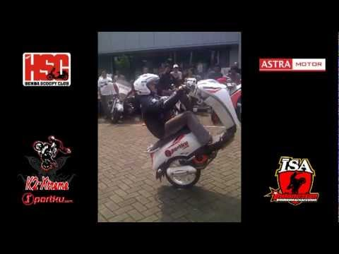 Honda Scoopy Club - Astra Motor Jakarta - Indonesian Stuntride Association