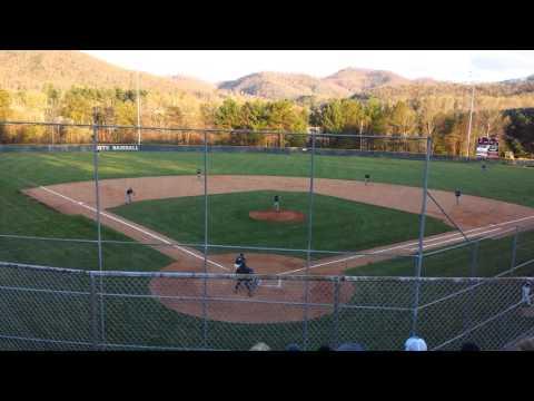Tanner Revis Enka High Dirtbags Baseball Backside
