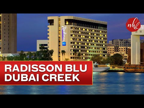 Radisson Blu Hotel, Dubai Creek At A Glance | Dubai Hotels | UAE - 4K