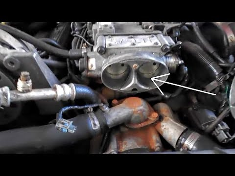 LT1 Throttle Body AirFoil  Camaro Z28  YouTube
