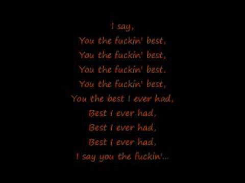 Drake Best I Ever Had W/ Lyrics