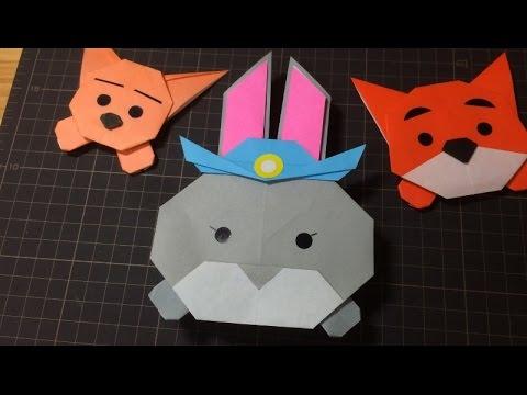 ハート 折り紙:ディズニー 折り紙 折り方-youtube.com