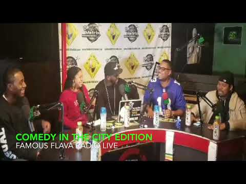 Comedy In The City Talking Shit On Famous Flava Radio Live Trailer