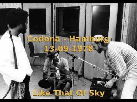 Codona, Hamburg, 1978 - AUDIO - part 1/6 - Like That Of Sky