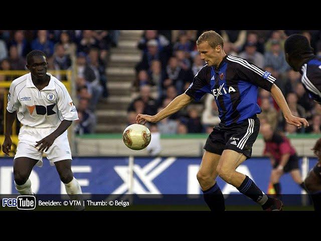 2002-2003 - Jupiler Pro League - 06. Club Brugge - AA Gent 1-0