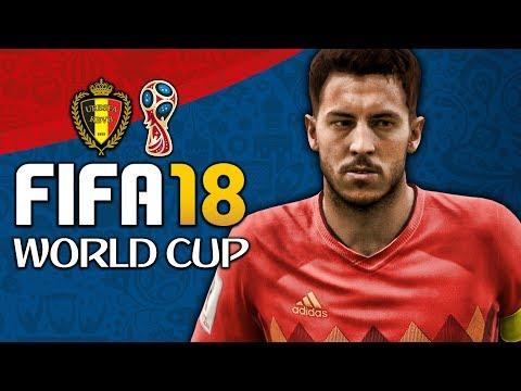 BELGIUM WORLD CUP FULL PLAY THROUGH!!! FIFA 18 World Cup Mode