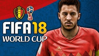 BELGIUM WORLD CUP FULL PLAY THROUGH!!! FIFA 18 World Cup Mode