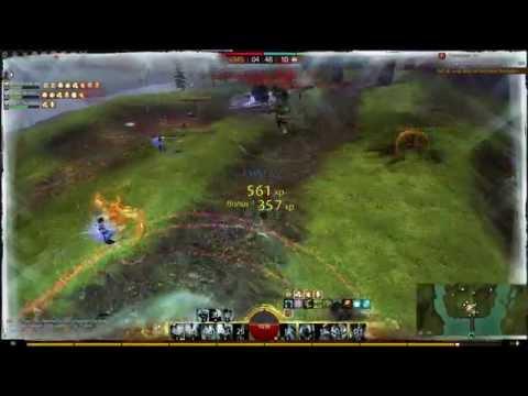 Gw2 WvW Fights [BurN] PoVguardian -Cerde