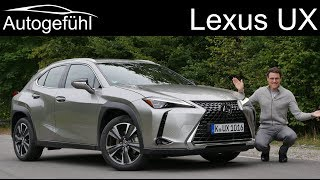 Lexus UX FULL REVIEW UX 200 - Autogefühl