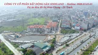 Tiến độ dự án khu đô thị mới Kim Chung Di Trạch, huyện Hoài Đức, TP Hà Nội