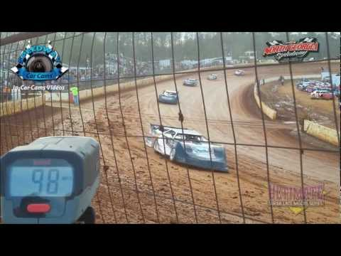 Hot Lap Top Speeds with the Ultimate Late Models at NGS