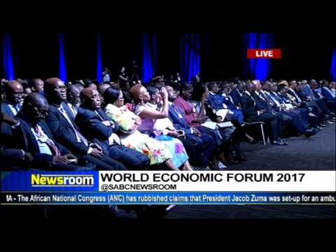 President Jacob Zuma officially opens WEF for Africa 2017