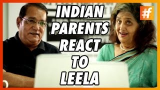 Indian Parents React to Leela - Sunny Leone
