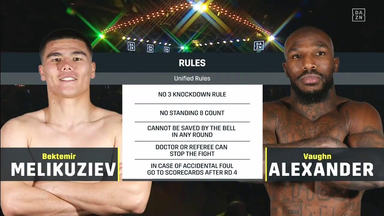 Бек Меликузиев — Вон Александр |АРХИВ 2019 | Мир бокса