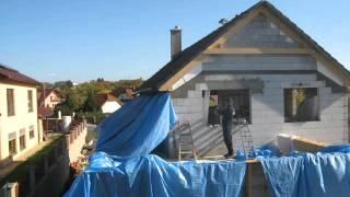 TimeLapse - Plachty nad rovnou střechou (2015-10-24)
