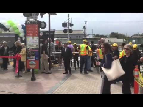 Monrovia Station Opening Ceremony