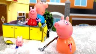 Свинка Пеппа на русском — Игрушки Пеппа и новогодние подарки