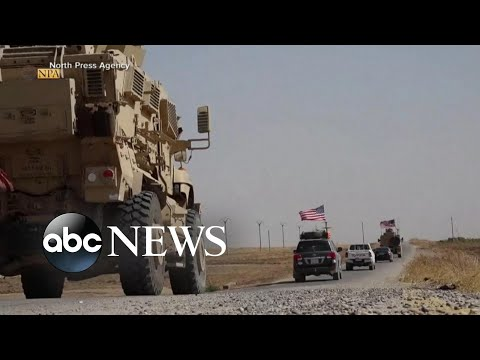 Trump faces swift backlash on Syria decision l ABC News