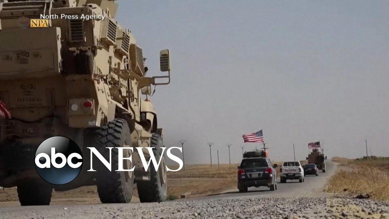 Trump faces swift backlash on Syria decision l ABC News