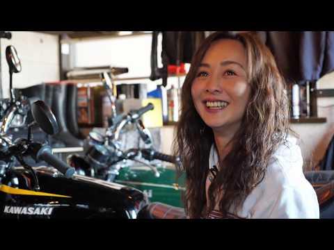 【Full version】Cute motorcycle  mother  / 美人Z400FX乗りのドキュメンタリー