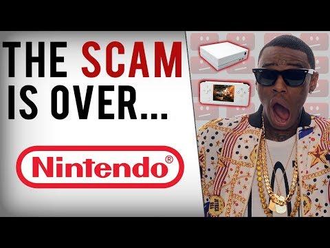Soulja Boy's Game Consoles Shutdown & Nintendo Takes Legal Action?!