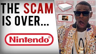 Soulja Boy's Game Consoles Shutdown & Nintendo Takes Legal Action?!
