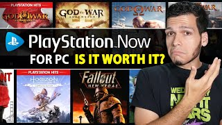 Playstation Now For Pc: Is It Worth It?? - Play Playstation 4 Exclusives On Your Pc!